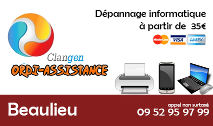 depannage informatique beaulieu