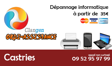 depannage informatique castries