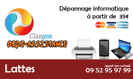 depannage informatique lattes