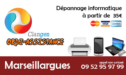 depannage informatique marseillargues