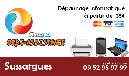 depannage informatique sussargues